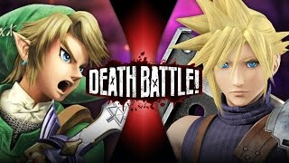 Link VS Cloud (Zelda VS Final Fantasy) | DEATH BATTLE!