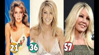 Heather Locklear ♕ Transformation From 15 To 57 Years OLD