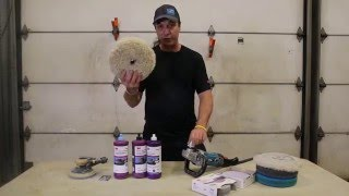 Professional wet/dry sanding and polishing tutorial. 3m Trizact system, EX Compound