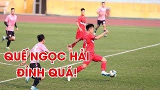 Quế Ngọc Hải thi đấu ấn tượng giúp Viettel cầm hòa Hà Nội FC | NEXT SPORTS