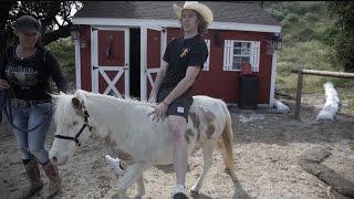 Riding A Pony!