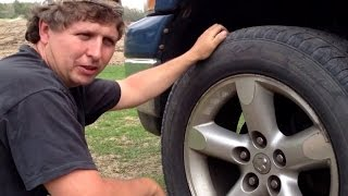 How to check Ball Joints, Tie Rods and Wheel Bearings