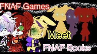 FNAF Games spend 24 hours with FNAF books/Loud noises and flashing lights\