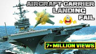 Aircraft Carrier Landing Accidents, fails, landing gear failure,fighter jet accidents 2018