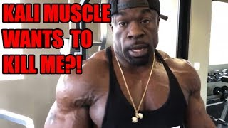 Exercises in Futility - Kali Muscle Threatens Me over My Videos