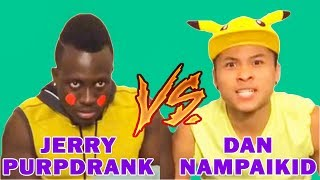 Dan Nampaikid Vines Vs Jerry Purpdrank Vines (W/Titles) Best Vine Compilation 2017