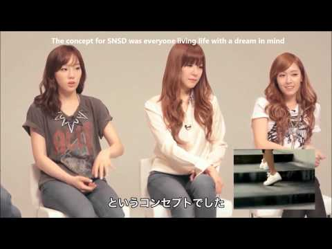 [ENG SUB] 1080p HD 120928 SNSD's Reactions to