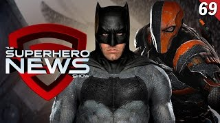 Superhero News #69: Deathstroke joins the DC Extended Universe