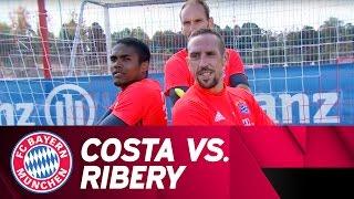 Costa vs. Ribéry | Penalty-Challenge | Part 1