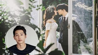 Song Hye Kyo Absent, Song Joong Ki gets upset when asked about his wife - divorced 2 months ago?
