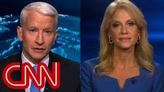 KellyAnne Conway, Anderson Cooper clash over Russian intel report