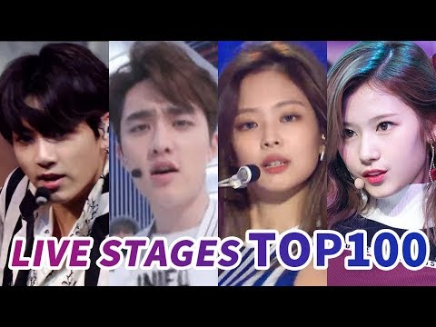 [TOP 100] MOST VIEWED K-POP MUSIC SHOW AND COMEBACK SHOW LIVE STAGES
