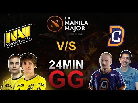 Na'Vi vs DC 24 Min GG @ Manila Major 2016