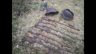 WWII Metaldetecting on the retreat area | Eastern Front episode by IG