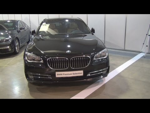 BMW 750d xDrive Sedan Black Sapphire (2013) Exterior and Interior in 3D