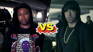 Some Black Guy DESTROYS Eminem (Response to Trump Diss)