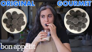 Pastry Chef Attempts To Make Gourmet Oreos   Gourmet Makes   Bon Appétit