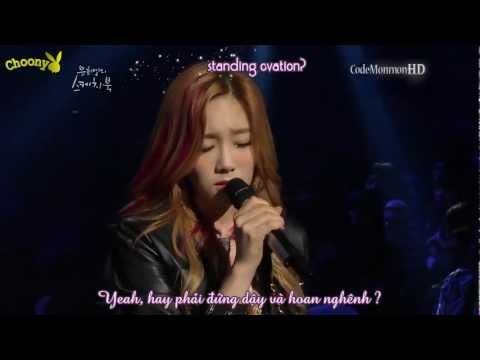 [Vietsub + Kara] TAEYEON (태연 - 소녀시대) - Take A Bow (Live in Sketchbook 120601)