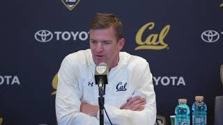 Cal Football: Head Coach Justin Wilcox Post-Game Presser - Washington State - Oct. 13, 2017