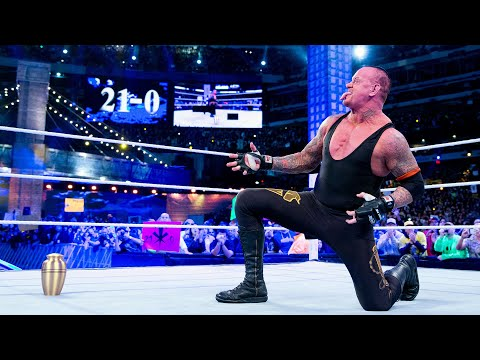 Les victoires de The Undertaker à WrestleMania