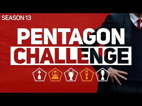 PENTAGON CHALLENGE - FOOTBALL MANAGER 2020 #13