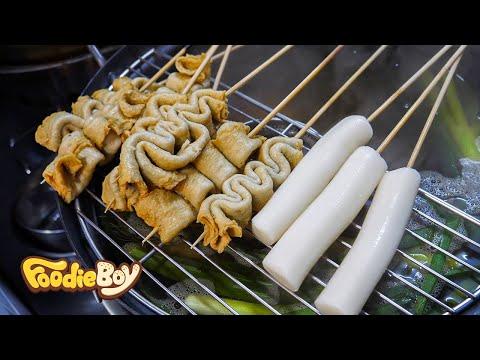 Fish Cake and Rice Cake / Korean Street Food / 87 Tteok-Bokki & Dak Bal, Busan Korea