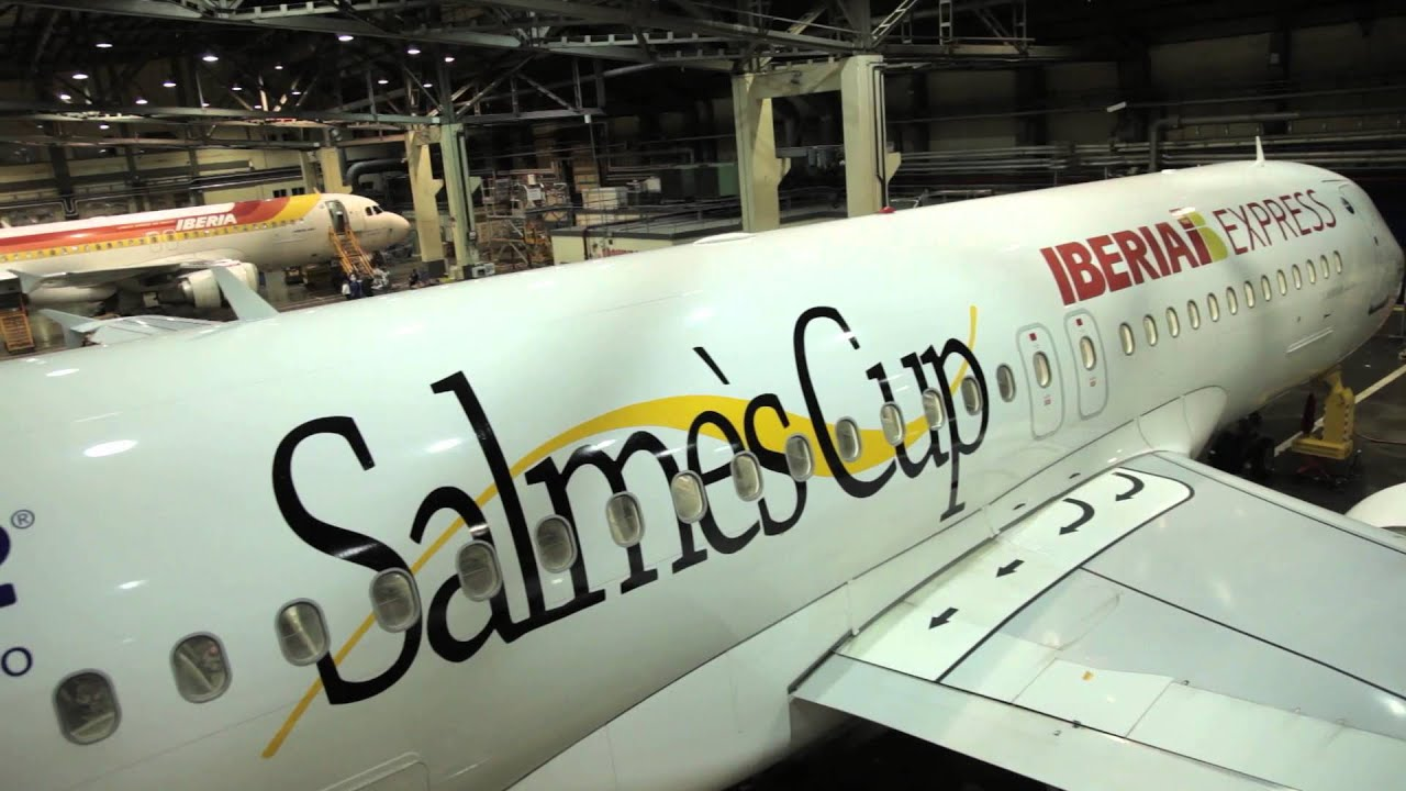 Salme's Cup by Iberia Express