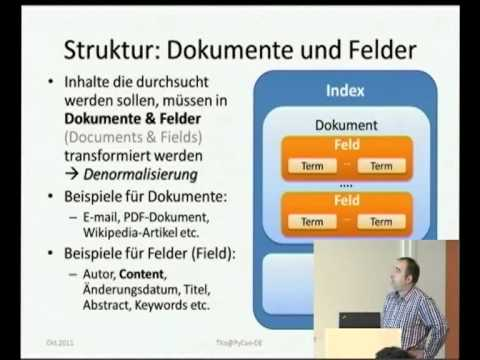 Image from Die Nadel im Heuhaufen - Index-basierte Volltextsuche mit PyLucene