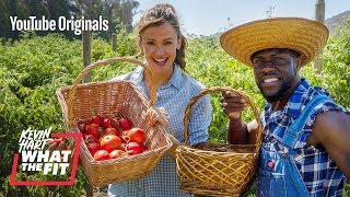 Farming with Jennifer Garner and Kevin Hart
