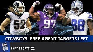Cowboys Rumors: Clay Matthews, Everson Griffen, Rashard Higgins & Top NFL Free Agency Targets Left?