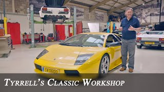 Lamborghini 350GT, Murcielago and the Bizzarrini V12 | Tyrrell's Classic Workshop