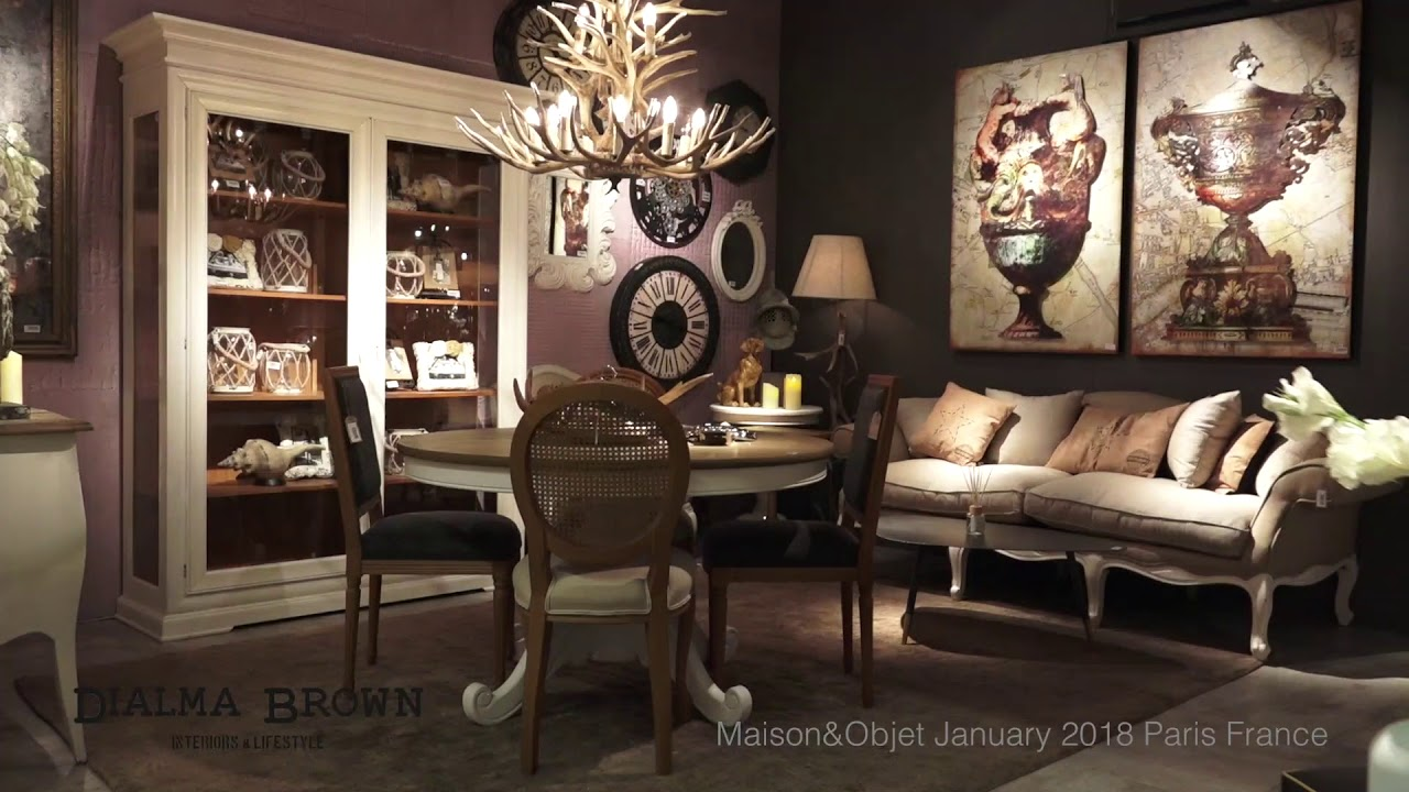 DIALMA BROWN at Maison & Objet - January 2018