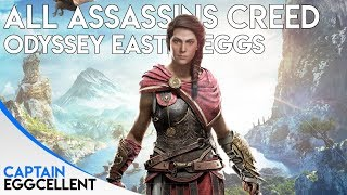 All Assassins Creed Odyssey Easter Eggs, Secrets & References
