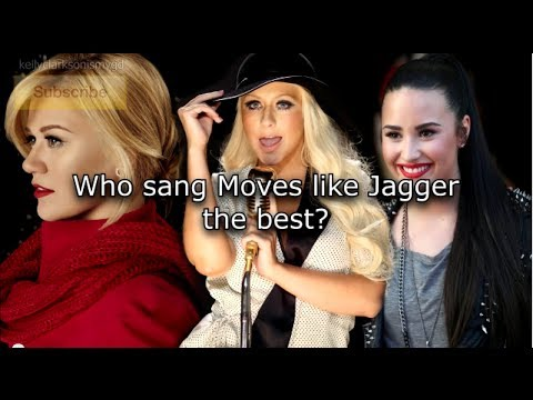 Baixar Who sang Moves Like Jagger better? Christina Aguilera vs Kelly Clarkson vs Demi Lovato Showcase