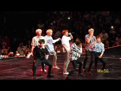 BTS KCON 2016 - Young Forever, Fire, & Save Me Part 1