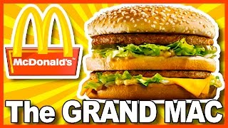 McDonald's GRAND MAC Review (with PICKLES) in Buffalo New York