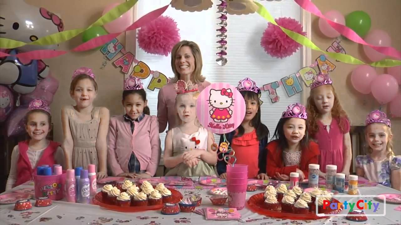 Hello Kitty Birthday Party Ideas Youtube