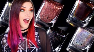ILNP Wicked Halloween Nail Polishes! (Multichrome and Holo!)    KELLI MARISSA