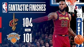 The Cleveland Cavaliers Comeback From 23 Points Down To Beat The Knicks On the Road