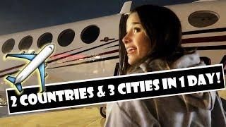 3 Cities & 2 Countries In One Day ✈ (WK 369.2) | Bratayley