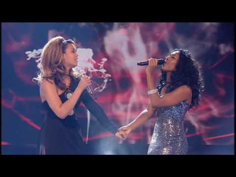 Xfactor final 2008: Alexandra & Beyoncé - Listen