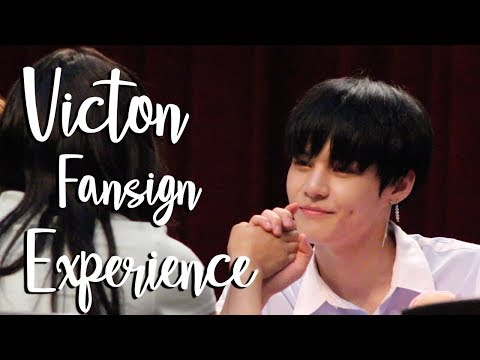 VICTON FANSIGN EXPERIENCE #10 + FANMEET!
