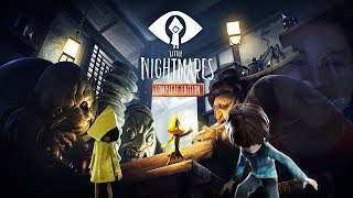 LITTLE NIGHTMARES + SECRET OF MAW DLC | Little Nightmares Complete Edition ( FULL GAMEPLAY ) LIVE