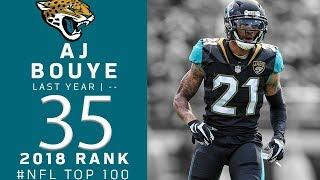#35: A.J. Bouye (CB, Jaguars) | Top 100 Players of 2018 | NFL