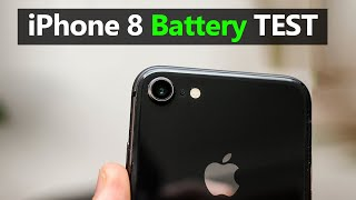 iPhone 8 Full Day Battery Drain Test | Battery Life Test