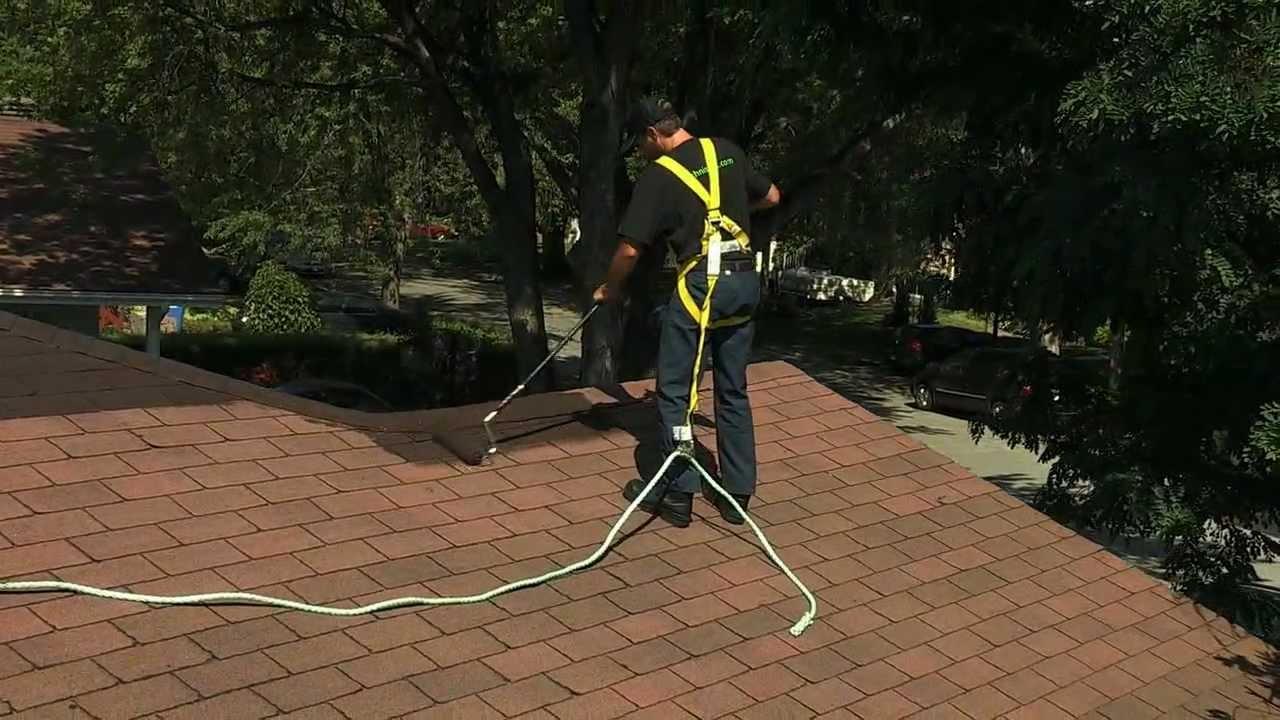 Techniseal How To Apply Elastomeric Roof Coating Youtube
