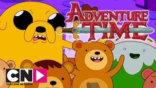 Adventure Time | Rap Bear VS Finn | Cartoon Network