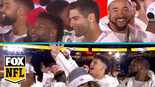 The 49ers and Chiefs enter the Miami stage at Super Bowl LIV's Opening Night | FOX NFL
