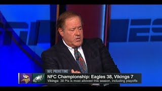 Eagles vs Vikings NFC Championship Postgame Analysis | NFL PrimeTime | Jan 21, 2018