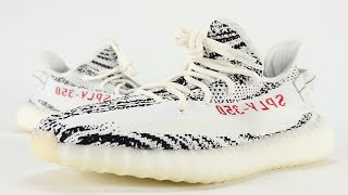 adidas YEEZY Boost 350 V2 Zebra Review + On Feet Restock